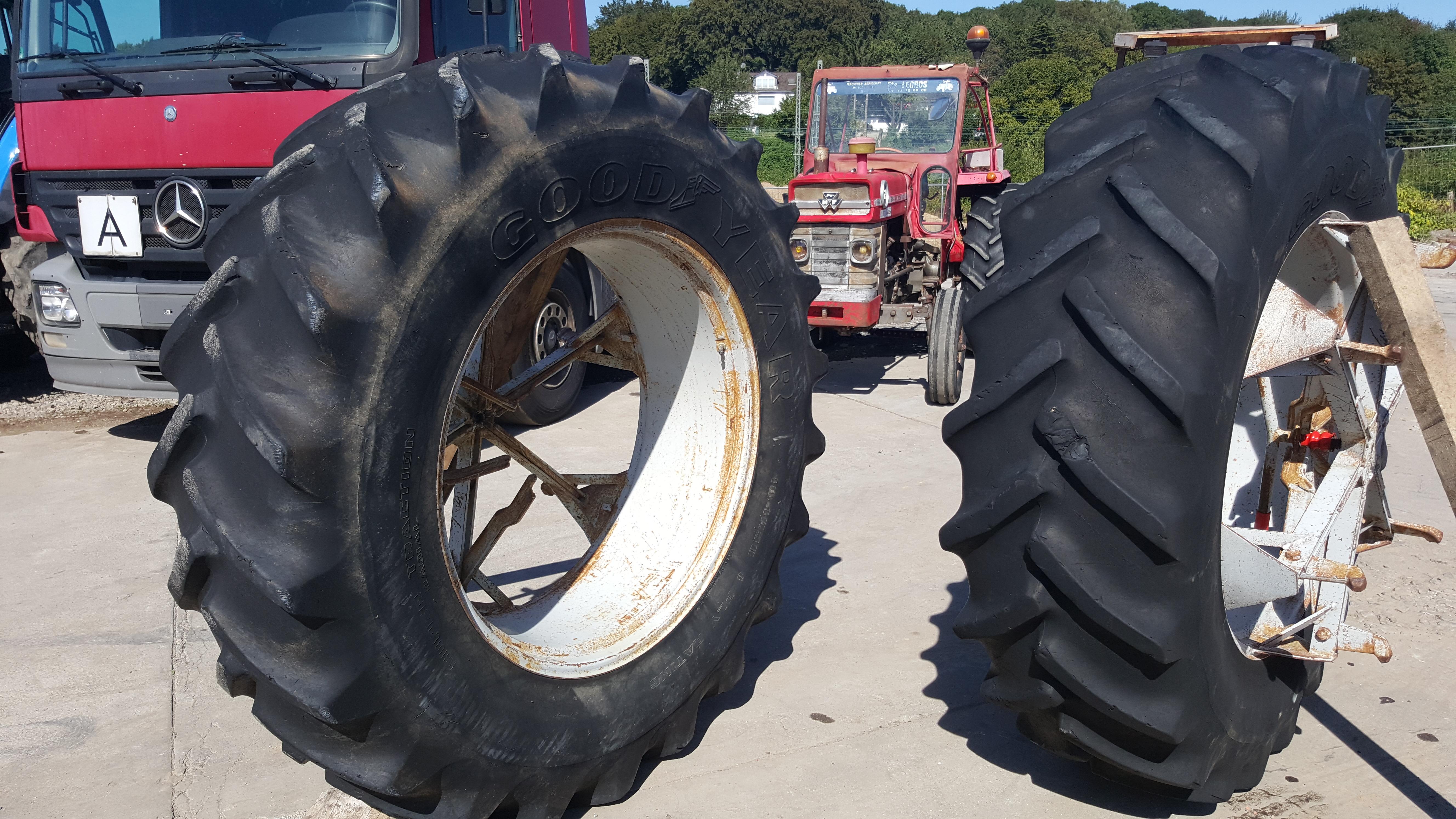 Zwillingsbereifung traktor